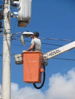 Manutenção de iluminação pública será feita em todos os bairros de Lavras do Sul