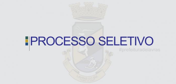 PREFEITURA: Edital de Convocação - PS 006/2020